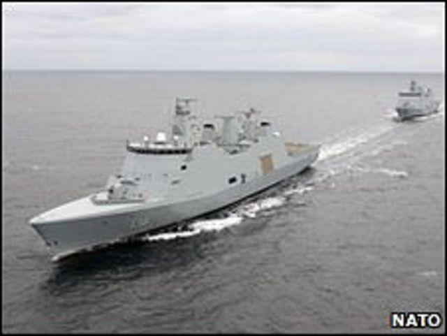 سفينة حربية دنماركية