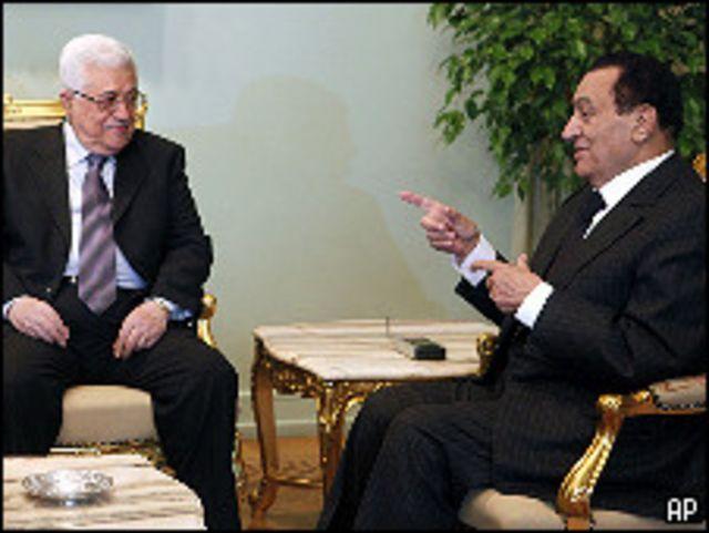 عباس ومبارك