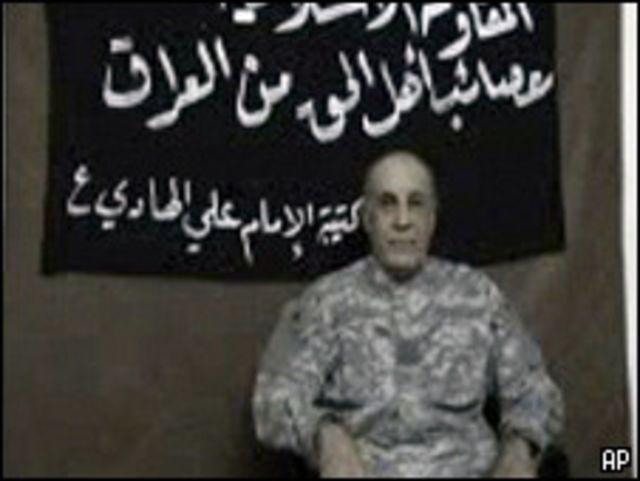 شريط فيديو يظهر اختطاف متعاقد مع الجيش الامريكي في العراق