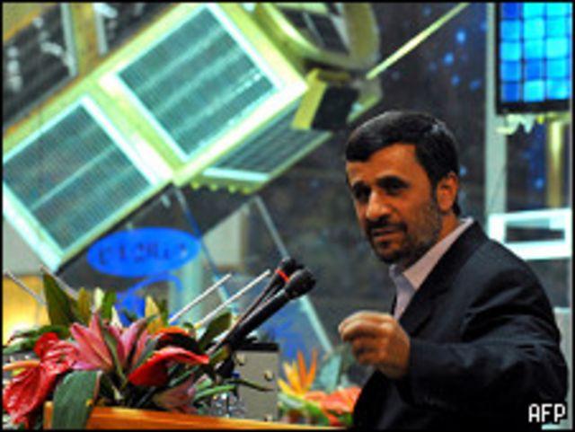 الرئيس الإيراني محمود احمدي نجاد
