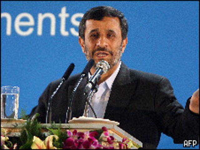 الرئيس الإيراني محمود أحمدي نجاد