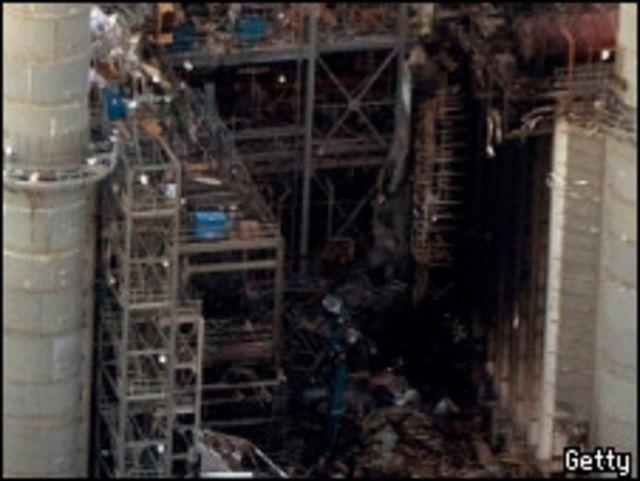 المحطة بعد الانفجار