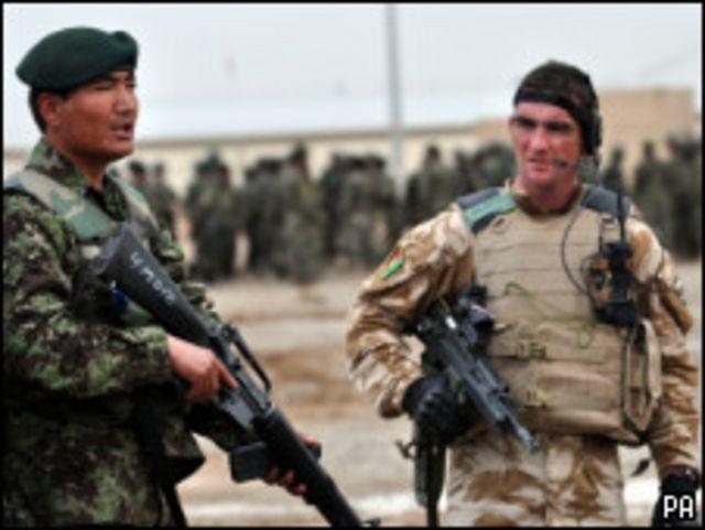 عملية مشترك في افغانستان