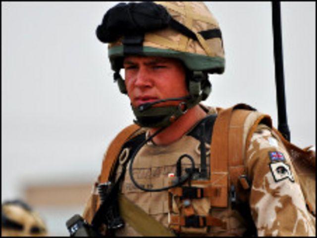 جندي من وقات التحالف