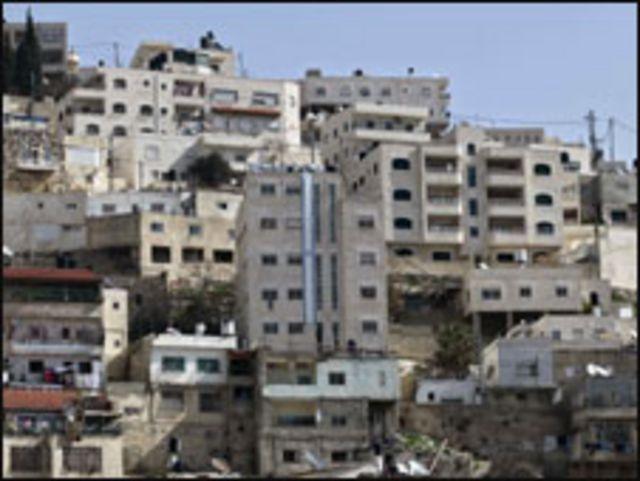 علم اسرائيل على بيت لمستوطنين في سلوان
