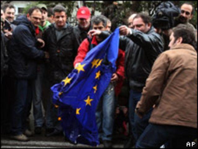 希臘民眾抗議