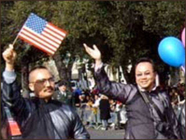 Người đồng tính đã từng diễu hành ở miền bắc California