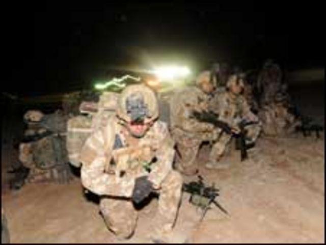 """عملية """"مشترك"""" في افغانستان"""