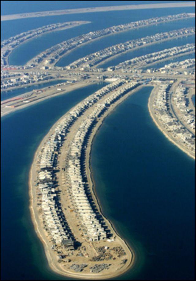 جزيرة نخلة دبي
