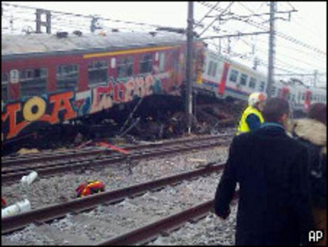 kecelakaan kereta di Belgia