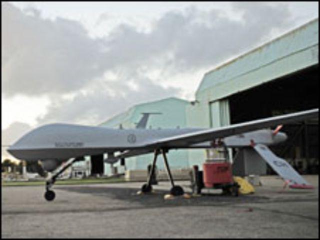 طائرة امريكية دون طيار من طراز بريداتور