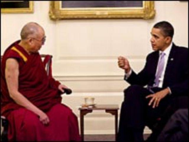 باراك اوباما و دالاي لاما