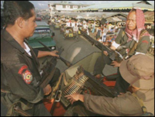 عناصر من الجيش الفلبيني في جزيرة جولو