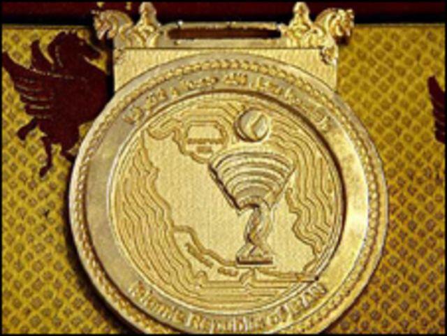"""الغيت دورة للالعاب الاسلامية في طهران بسبب ميداليات نقشت عليها خارطة ايران مع عبارة """"الخليج الفارسي"""""""