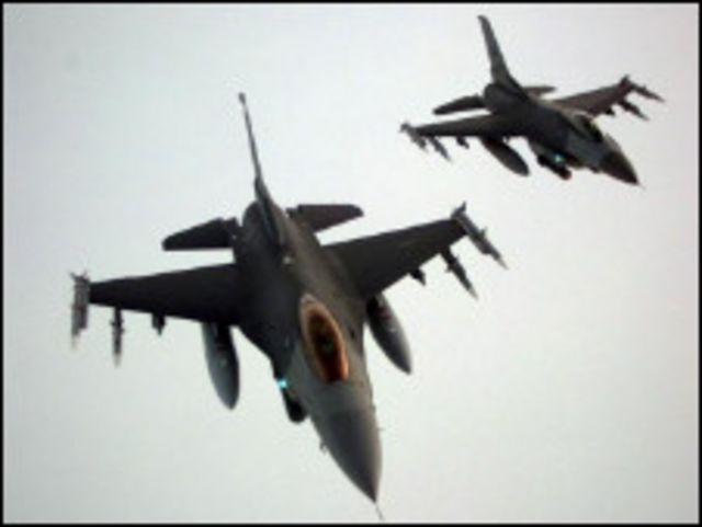 طائرة اف - 16