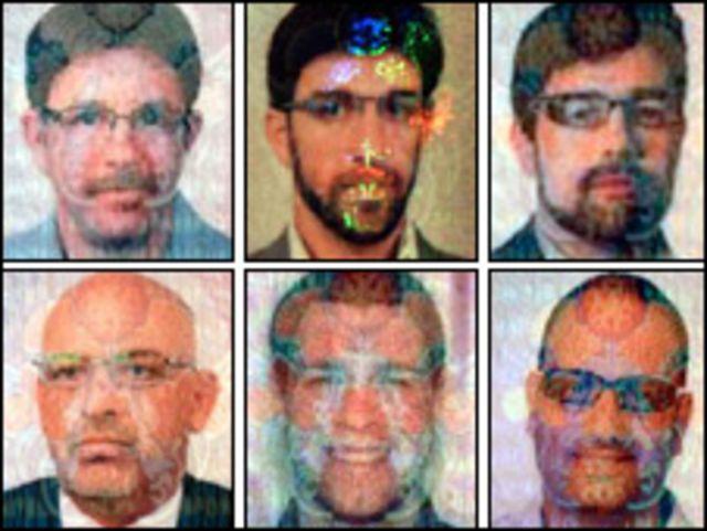 صور وزعتها شرطة دبي لمن تعتقد بأنهم اغتالوا المبحوح