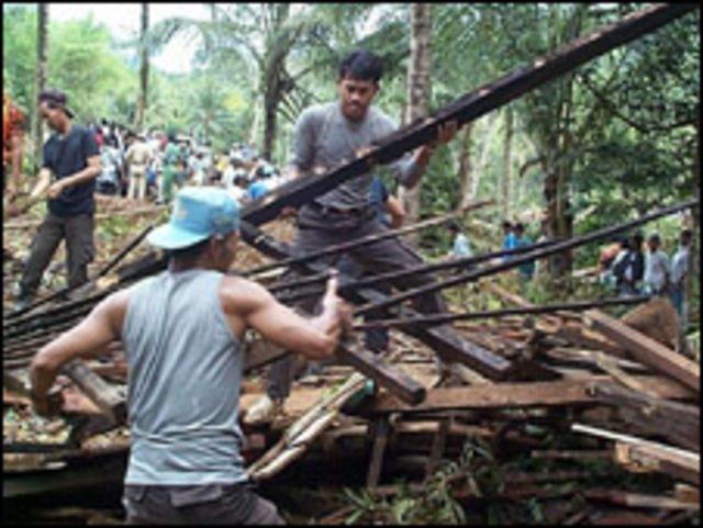قرية في اندونيسيا