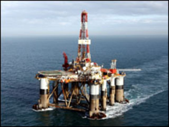 """منصة """"اوشن جارديان"""" النفطية"""