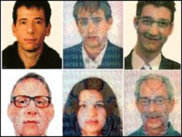 6 من المشتبه فيهم الجدد