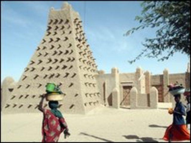 مسجد دجينجيريبير في تمبوكتو