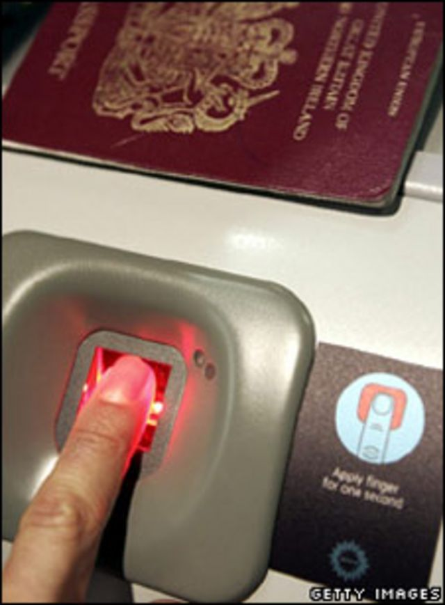 جوازات مقروءة إلكترونية