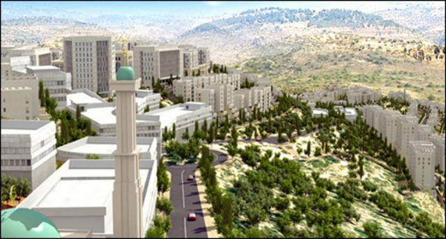 مشهد من الشريط الإعلاني لمدينة روابي