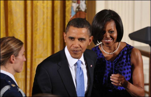 باراك وميشال أوباما