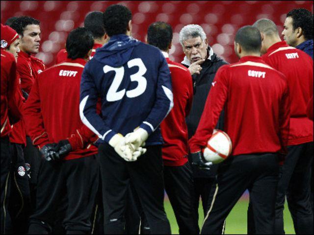 تدريب المنتخب المصري