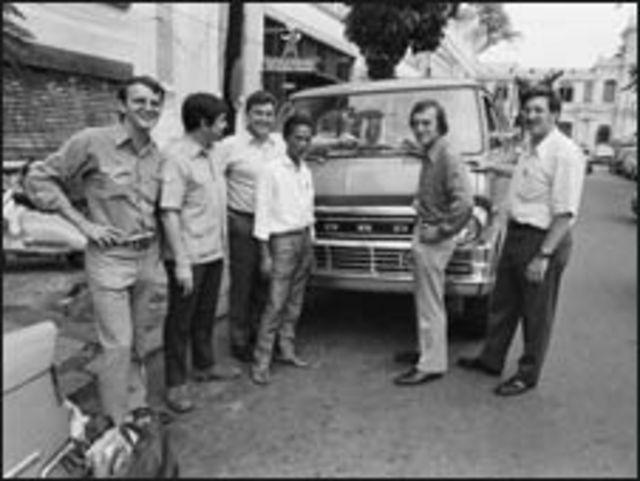 Các phóng viên ở Sài Gòn năm 1972 (ảnh của Neal Ulevich)