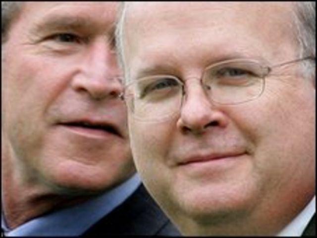 كارل روف وجورج بوش
