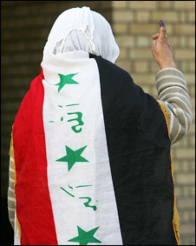 مقترع عراقي