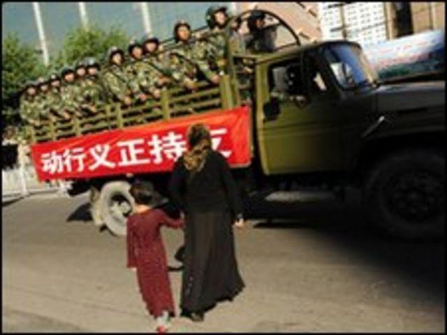 An ninh tại Tân Cương đã được tăng cường sau các vụ bạo động hồi tháng Bảy 2009