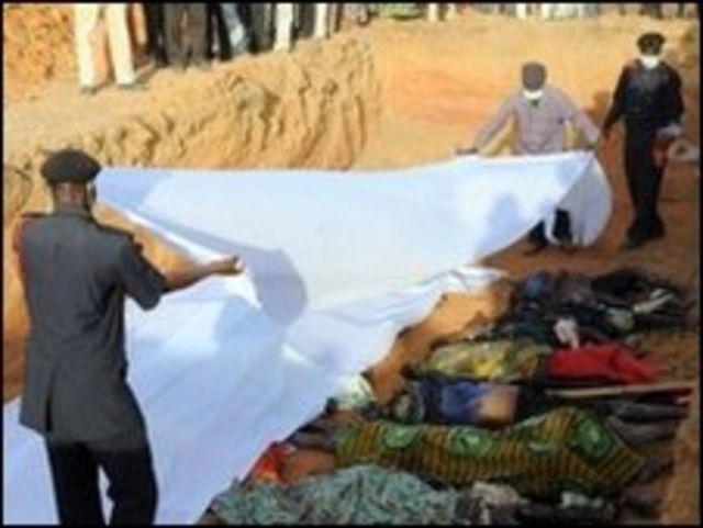 مخلفات الهجمات الأخيرة في نيجيريا