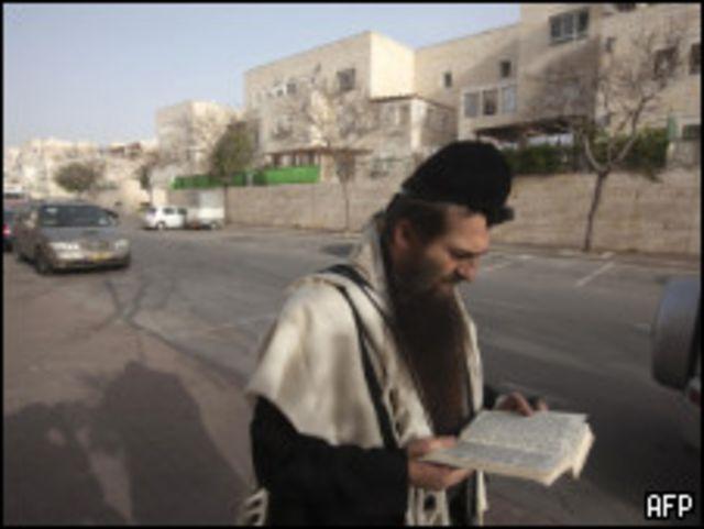 مستوطن اسرائيلي في القدس الشرقية