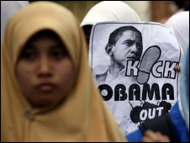 تظاهرات في اندونيسيا