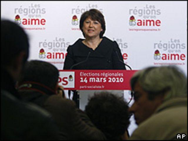 زعيمة الحزب الاشترامي مارتين اوبري