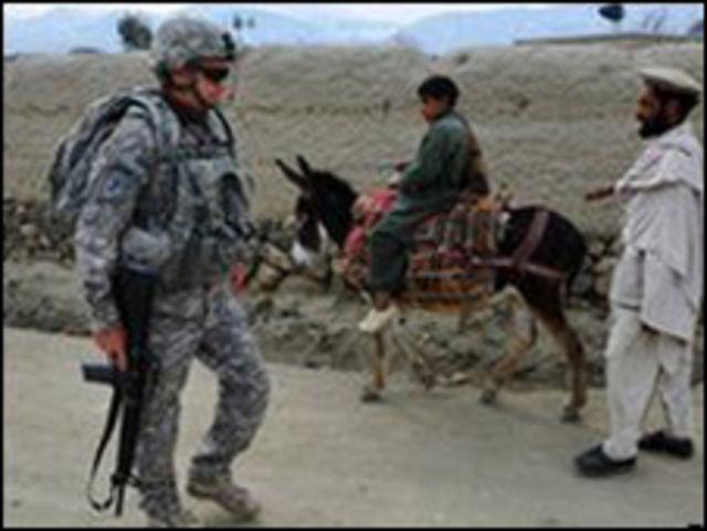 أفغان وأجانب