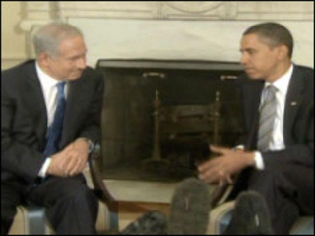 اوباما ونتنياهو