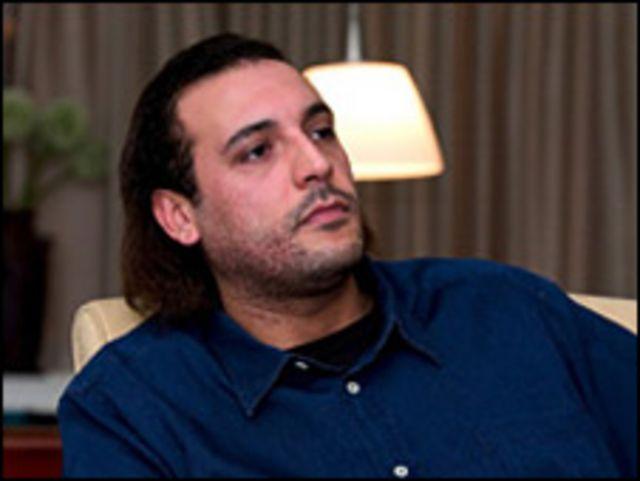 جرى توقيف هنيبعل القذافي يومين للاشتباه بانه اساء معاملة اثنين من خدمه