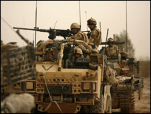 وحدة من الجيش البريطاني