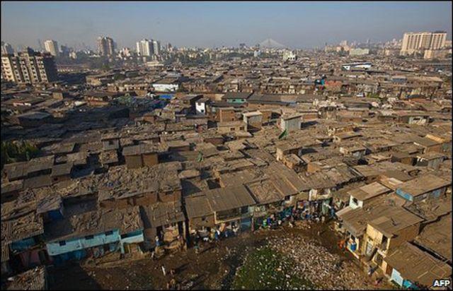 حي دارفي الفقير في الهند
