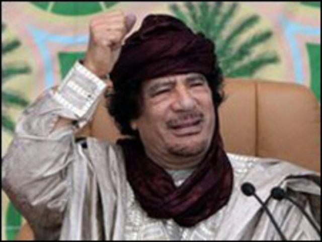 معمَّر القذافي