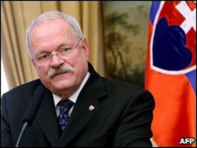 الرئيس السلوفاكي، إيفان جاسباروفيتش