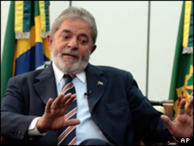 الرئيس البرازيلي، لولا داسيلفا