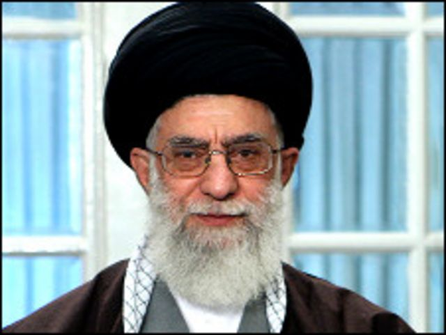 المرشد الاعلى للثورة الاسلامية علي خامنئي