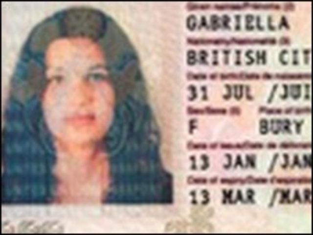 جواز بريطاني مزور