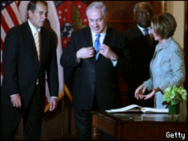 نتنياهو في الكونجرس الأمريكي