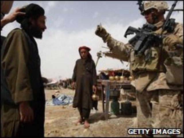 القوات الدولية في افغانستان