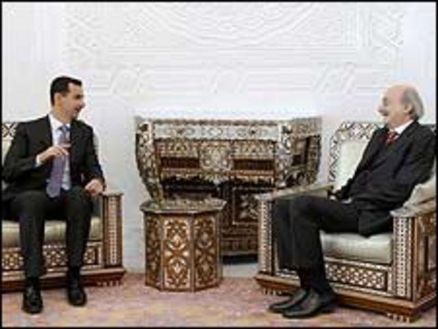 جنبلاط والأسد