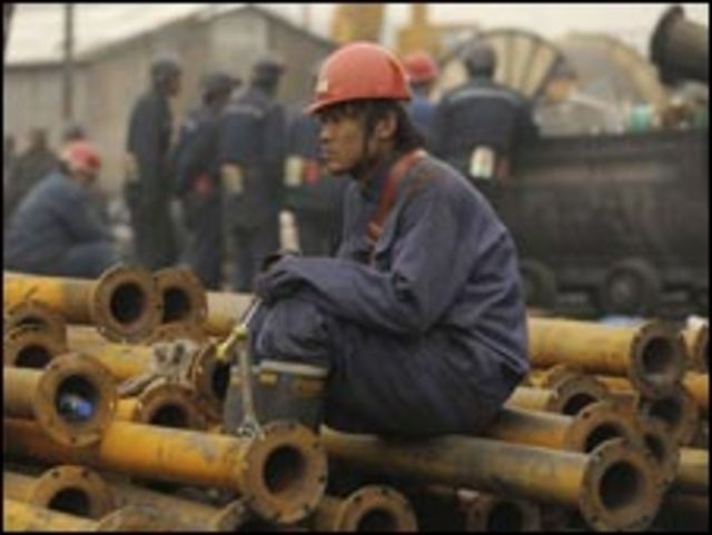 عمال مناجم في الصين